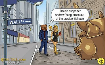 Bitcoin Supporting US Presidential Candidate Drops out of Race Nine Months from Polling Day