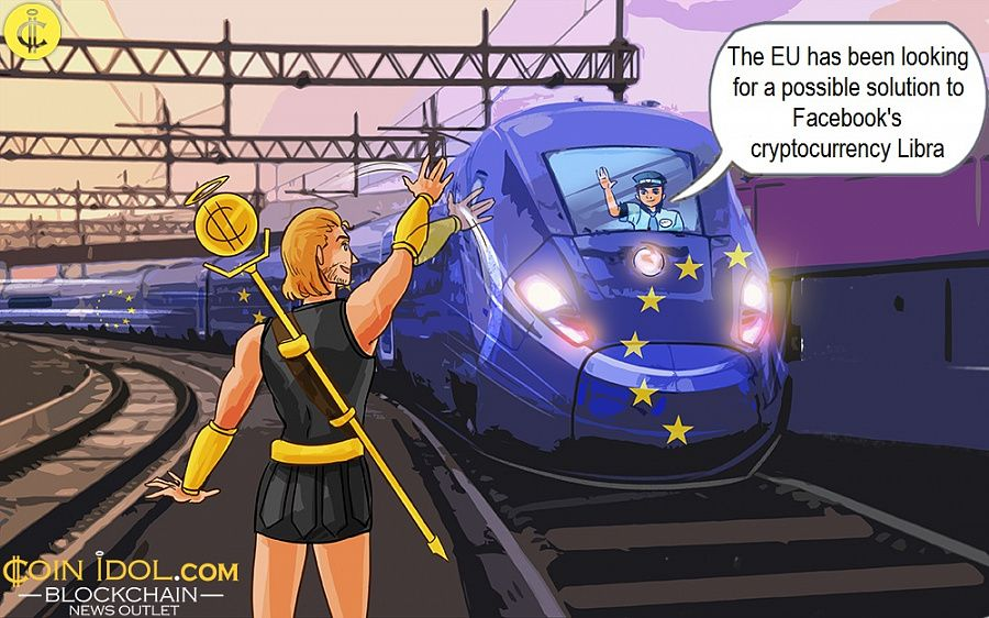 The EU has been looking for a possible solution to Facebook's cryptocurrency Libra
