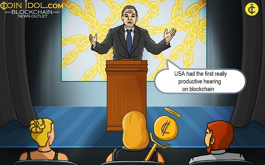 USA had the first really productive hearing on blockchain