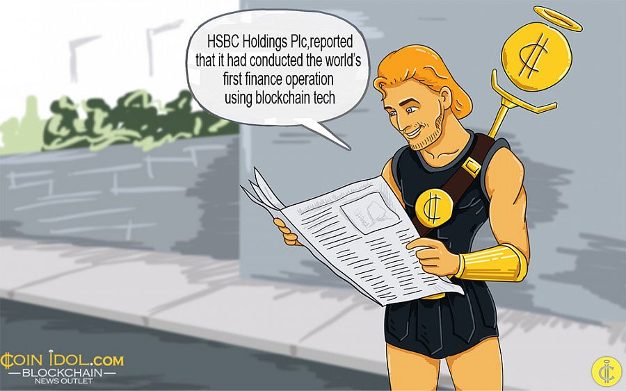 HSBC Claims it Performed the World's First Trade Transaction via Blockchain C8df29bd5f76affd3f688c2e67f51e31