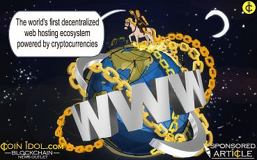 The World's First Decentralized Web Hosting Ecosystem Powered by Cryptocurrencies