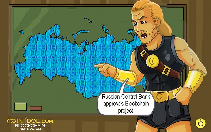 Russian Central Bank approves Blockchain project