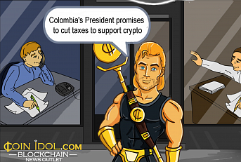 Colombia's New President Promises to Cut Taxes to Support Crypto & Blockchain Industry