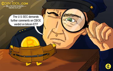The U.S SEC Demands Further Comments On CBOE Verdict on Bitcoin ETF