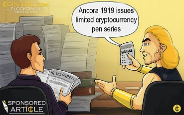 Ancora 1919 Pens Its Support for Cryptocurrency, Issues Limited Pen Series