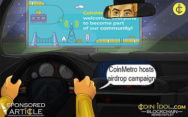 CoinMetro Hosts AirDrop Campaign To Augment Presence