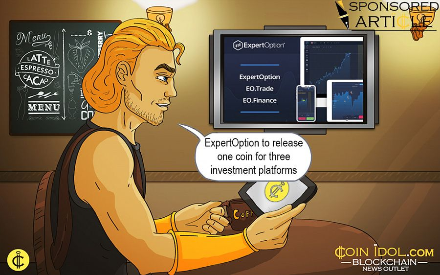 ExpertOption to release one coin