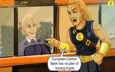 European Central Bank Has No Plan of Issuing Crypto