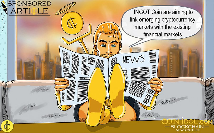 INGOT Coin are aiming to link emerging cryptocurrency markets with the existing financial markets