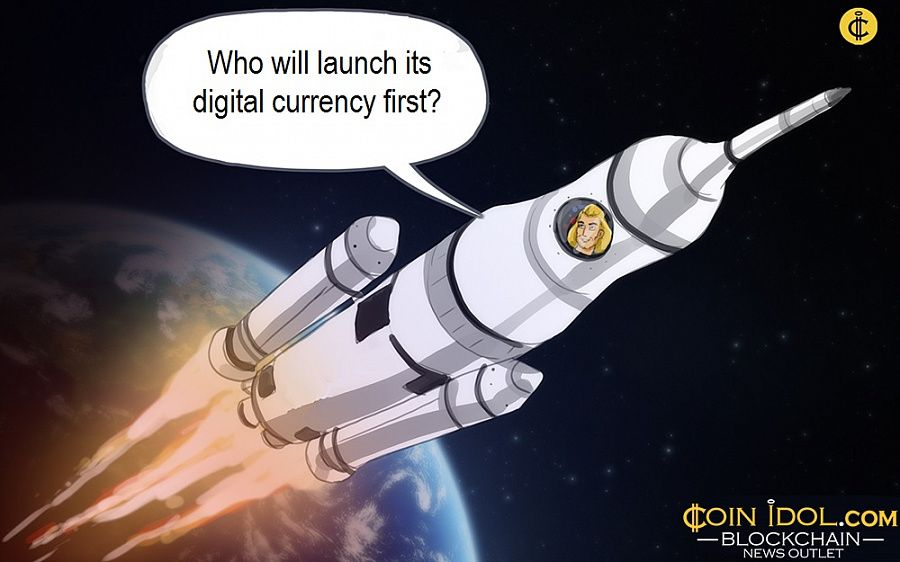 Who will launch its digital currency first?