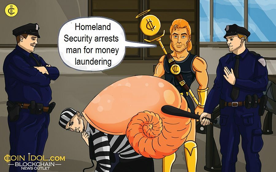 Homeland Security arrests man for money laundering
