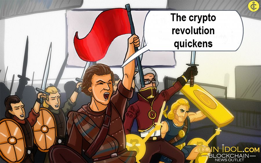 The crypto revolution quickens
