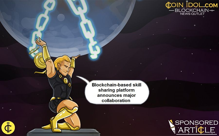 Blockchain-based skill sharing platform announces collaboration