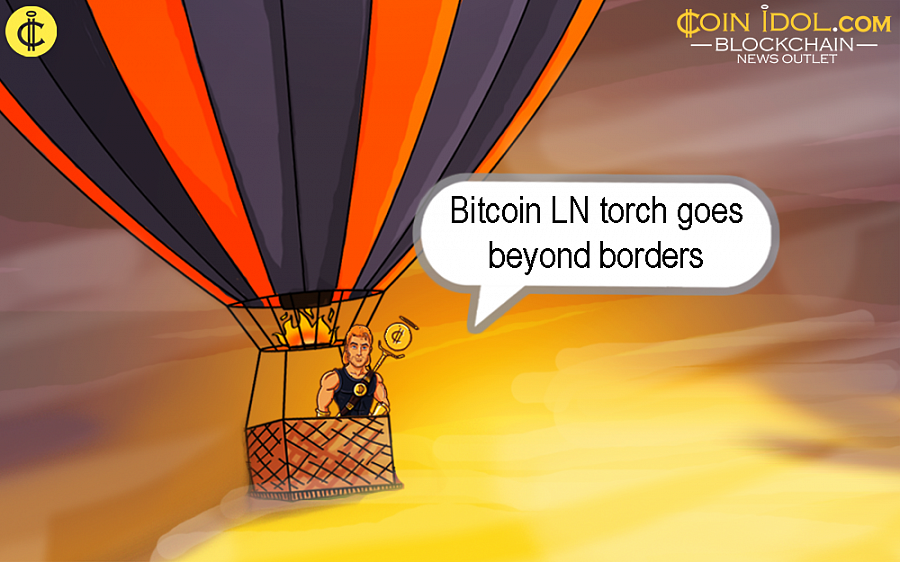 The Bitcoin LN trust chain keeps on going beyond borders and battles for the interest of digital currency.
