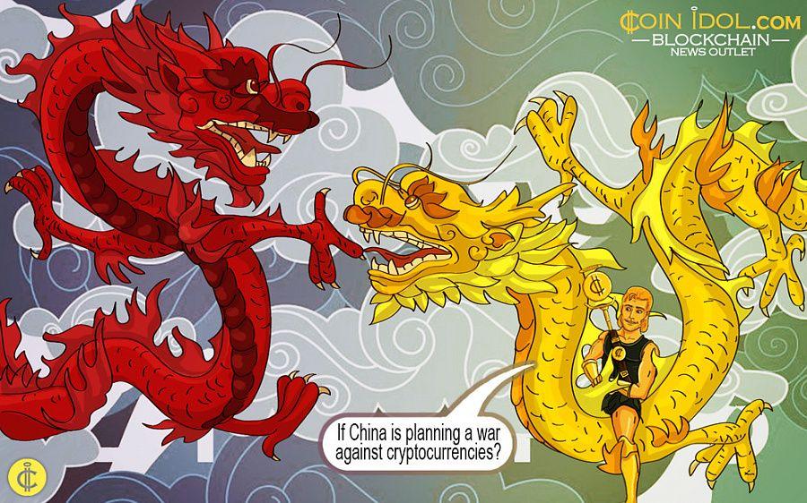 china ban on cryptocurrency exchange