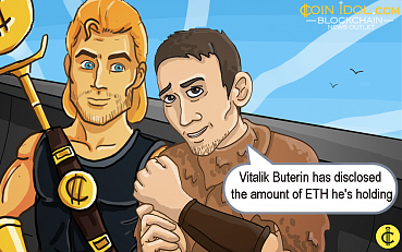 Vitalik Buterin Unveils Amount of ETH he Holds, Nouriel Roubini Accuses him of Ill Actions