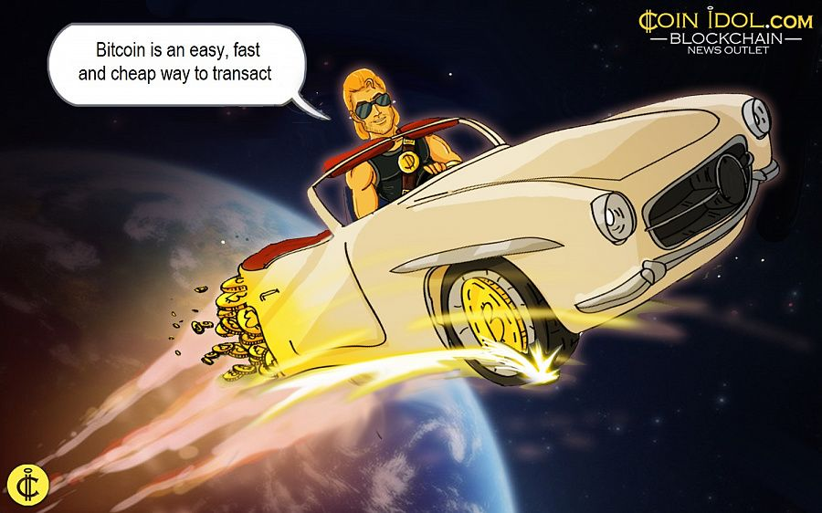 Bitcoin is an easy, fast and cheap way to transact