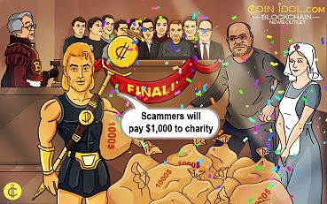 The Voting Results of CoinIdol's Public Trial: Scammers will Pay $1,000 to Charity