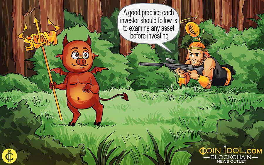 CoinIdol Hunting Scamcoins