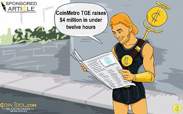 On the Right Track: CoinMetro TGE Raises $4 Million in Under Twelve Hours