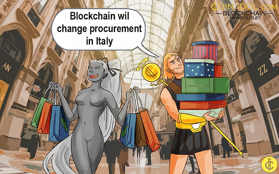 Blockchain procurement in Italy