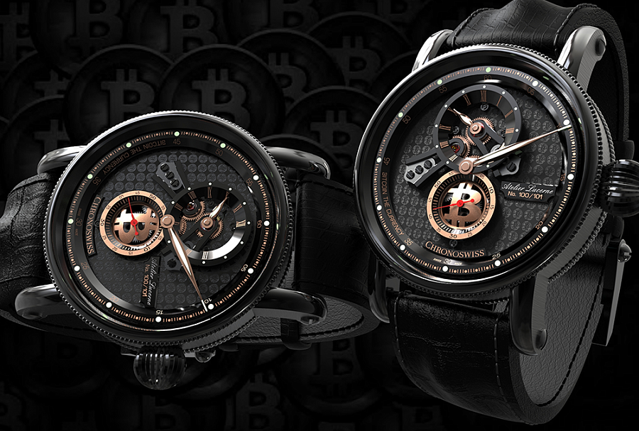 Chronoswiss release cryptocurrency watches