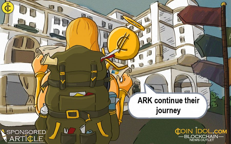 ARK continue their journey