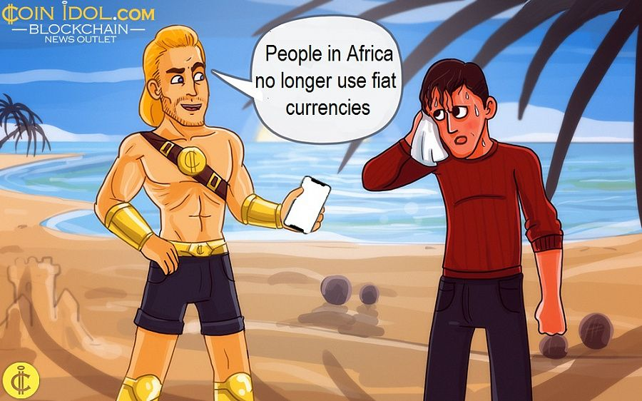 People in Africa no longer use fiat currencies