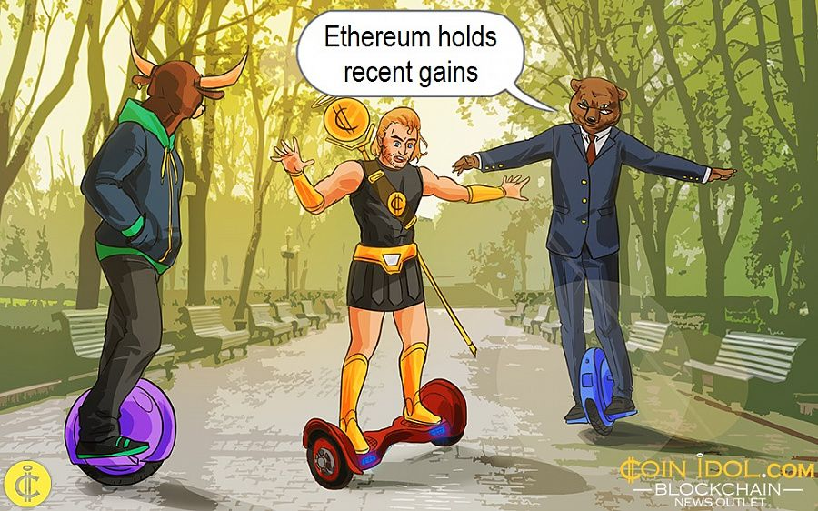 Ethereum holds recent gains