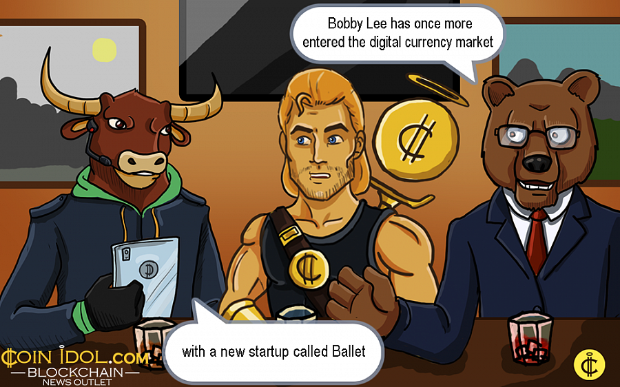 Before Ballet, Bobby established and operated BTCC, the first Bitcoin exchange platform in China.