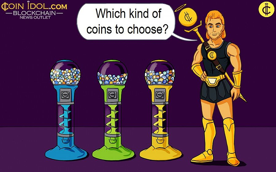 Which kind of coins to choose?