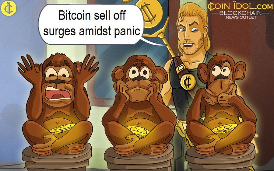 Bitcoin sell off surges amidst panic