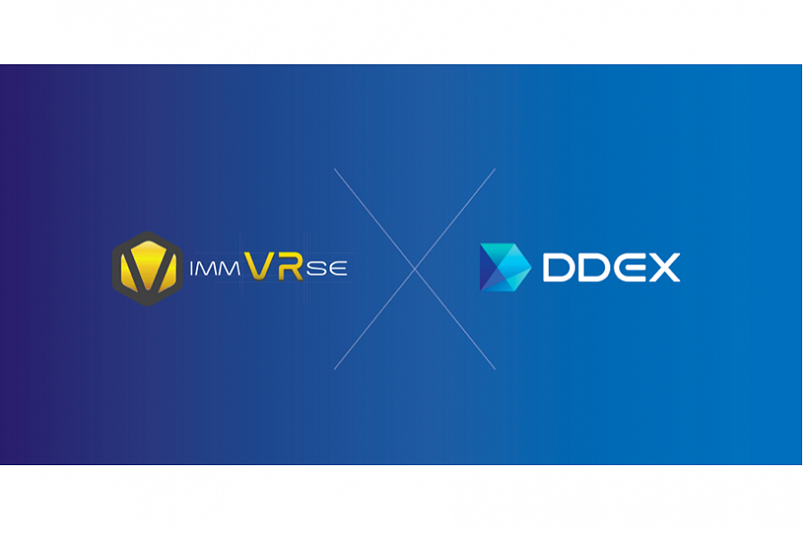 Industry-leading decentralized exchange DDEX offers IMVR traders instant and real-time on-chain settlement on the decentralised platform.