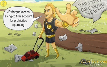 JPMorgan Closes a Crypto Firm Account for Prohibited Operating