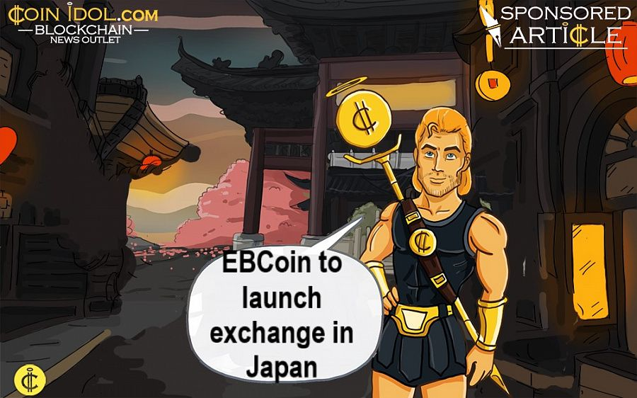 EBCoin to launch exchange in Japan