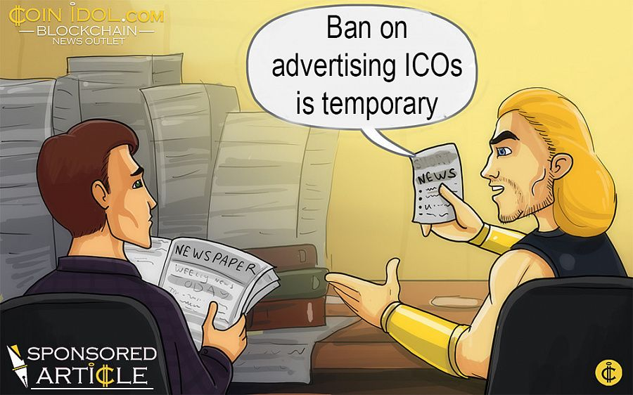 Ban on ICO ads