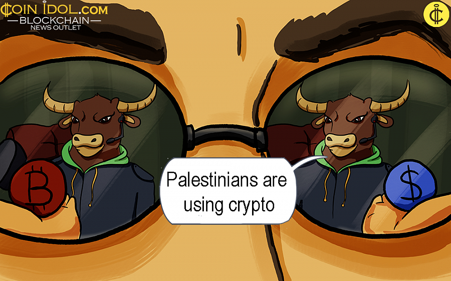 An experienced financial analyst in Gaza, Ahmed Ismail, approximated there are almost 20 illegal exchange offices trading virtual currencies to local users.