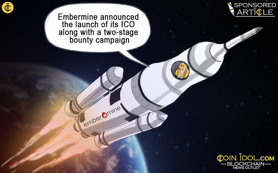 The ongoing crowdsale began earlier this month on May 5, 2017, and will go on until June 2, 2017. Through this ICO, Embermine offers an opportunity for cryptocurrency investors to become part of a revolutionary platform.