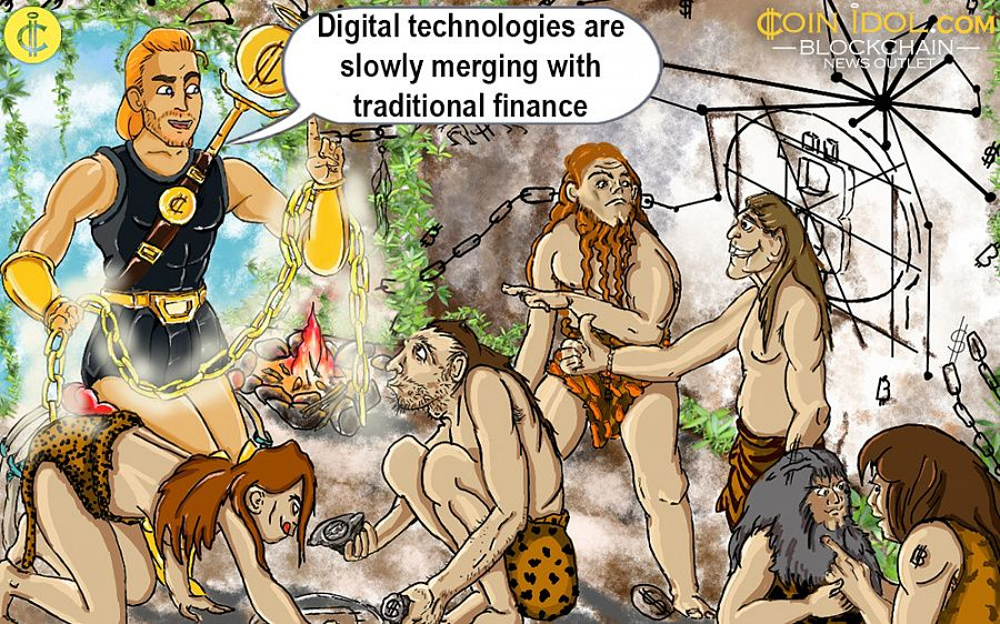Digital technologies are slowly merging with traditional finance