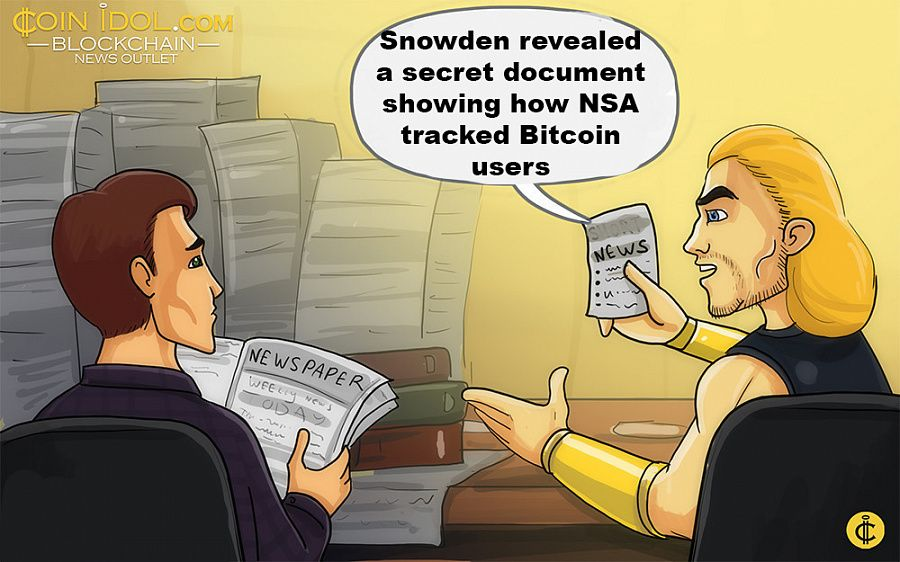 Snowden revealed a secret document