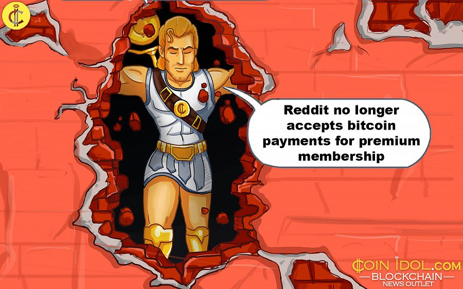 Redditors Will No Longer Be Able To Make Bitcoin Payments