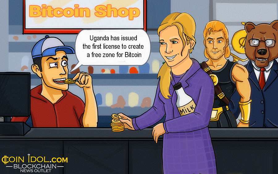 The Uganda Free Zones Authority (UFZA)issued a license to designers and developers to launch a free zone focusing mainly on DLT innovations.