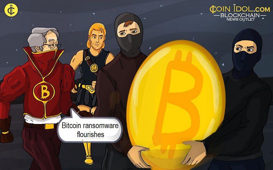 Bitcoin ransomware flourishes