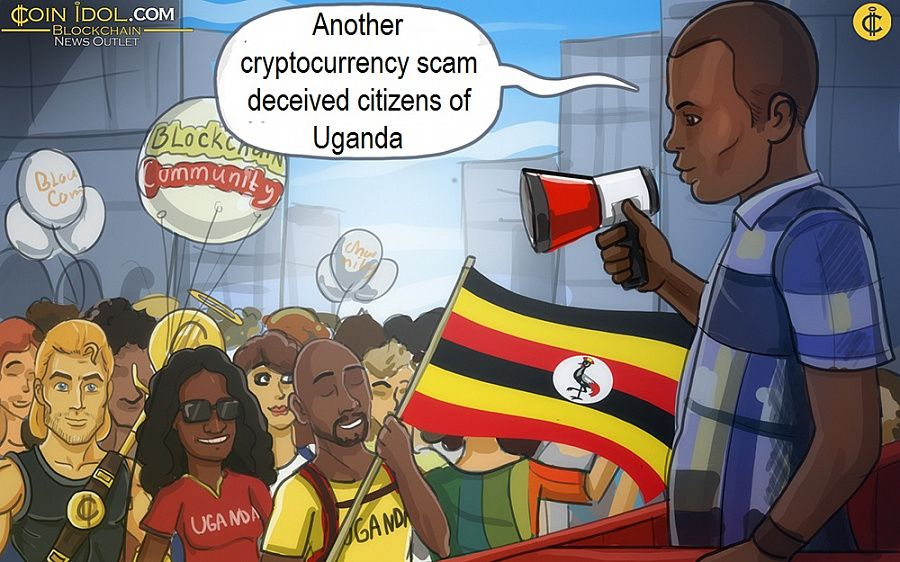 Another cryptocurrency scam deceived citizens of Uganda