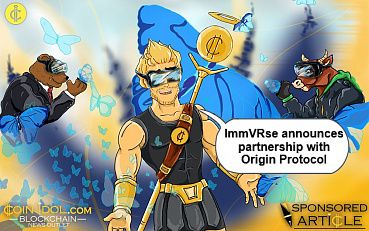 Decentralized VR Content Marketplace ImmVRse Announces Partnership with Origin Protocol